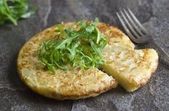 Omelette espagnole Image stock