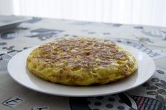 Omelette espagnole Photos stock