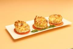 Omelette francese Fotografia Stock Libera da Diritti
