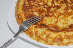 Omelette. With freshly made egg Royalty Free Stock Photo