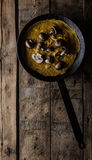 Omelette with mushrooms Royalty Free Stock Photos