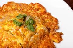 Omelette. Omelet eggs breakfast dish Stock Photos