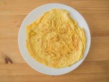 Omelette ou omelette thaïlandaise photographie stock libre de droits