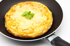Omelette of potato Royalty Free Stock Photography