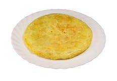 Omelette spagnola Immagine Stock Libera da Diritti