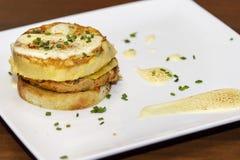 Omelette spagnola fotografie stock