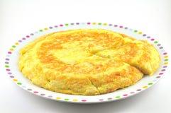 omelette spanish Fotografia Royalty Free
