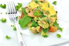 omelette stile italiana Immagine Stock