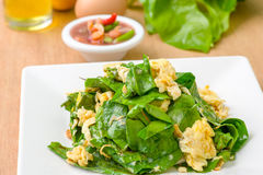 Omelette with vegetable Royalty Free Stock Photo