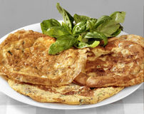 Omelettes Stock Images