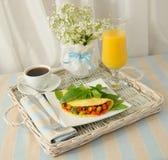 omelettgrönsaker Royaltyfri Bild