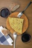 Omelettvin Arkivbilder