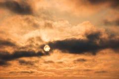 Omenüberlagerung cloudscape Lizenzfreie Stockfotografie