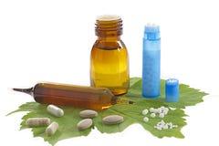 Omeopatia della medicina e di sanità fotografia stock libera da diritti