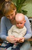 Omeopatia per il bambino Fotografia Stock Libera da Diritti