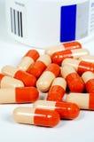 Omeprazole capsules. royalty free stock image