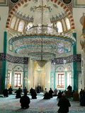 Omer Duruk Mosque, Atakoy, Istanbul, Turkey. A Muslim place of worship. Imams in our mosques preach on many issues stock photo