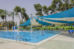 Omer, ISRAEL - Country Club -June 27, June 27, 2015 in Israel Royalty Free Stock Photography