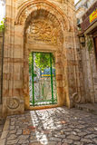 Omer mosque entrance in Jerusalem Royalty Free Stock Image