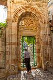 Omer mosque entrance in Jerusalem Stock Photos
