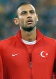 Omer Toprak im Spiel die Rumänien-Türkei-Weltcup-der näheren Bestimmung Stockfotografie