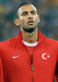 Omer Toprak in Romania-Turkey World Cup Qualifier Game Stock Photography