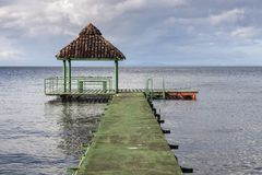 Ometepe ö i Nicaragua arkivbilder