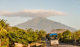 Ometepe Volcanic island royalty free stock photos