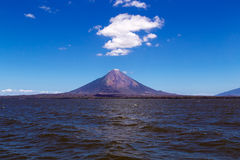 Ometepe volcano view Stock Photos