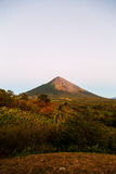 Ometepe volcano view Royalty Free Stock Photos