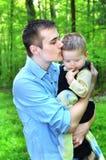 omfamna för barn Royaltyfri Foto