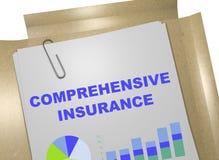 Omfattande försäkring - försäkringbegrepp vektor illustrationer