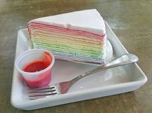 Omfloers Cake Stock Foto's