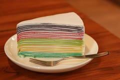 Omfloers Cake Stock Afbeeldingen