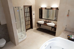 Сomfortable bathroom Stock Photography