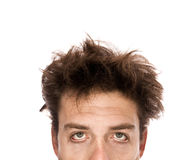OMG - Exhausted man Royalty Free Stock Images