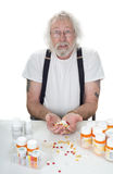 OMG too many pills Royalty Free Stock Photography