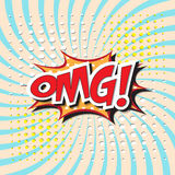 OMG! word Royalty Free Stock Images