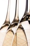 Omgedraaide glazen Royalty-vrije Stock Fotografie