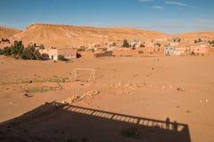Omgeende stad Ait ben Haddou, Marocko för land Fotografering för Bildbyråer