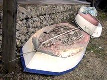 Omgekeerde boten Stock Afbeeldingen