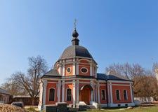 Omgestaltning av den Jesus kyrkan (1777). Kraskovo Ryssland Royaltyfria Bilder