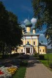 Omgestaltningdomkyrkan i Uglichen kremlin arkivfoton