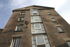 Omgezet Pakhuis in Liverpool royalty-vrije stock afbeeldingen