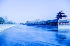 Omgivet av den imperialistiska Palaceï ¼en Œ Kina Royaltyfri Bild