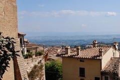 Omgivning av Montepulciano arkivfoto