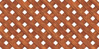omheining die van raads naadloze textuur wordt gemaakt stock illustratie
