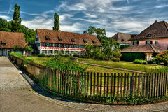Omheining HDR Stock Foto's
