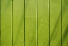 Omheining van de Plank van de kalk de Groene Stock Foto's