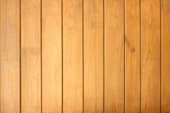 Omheining van houten verticale planken als achtergrondclose-up Royalty-vrije Stock Foto